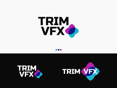 Trim VFX Logo brand identity logo design logocore logo mark logo challenge logo designer logos design branding logo