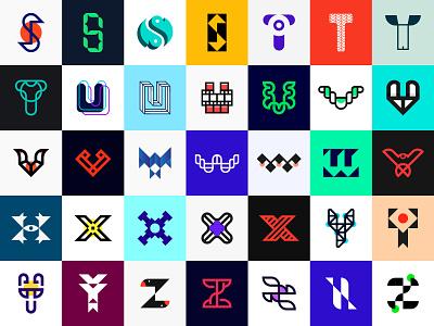 S to Z - 36 days of type challenge logo designer brand identity typographic logotype letters logo iconic logo 36daysoftype08 36daysoftype logo mark branding minimalist logo logo design