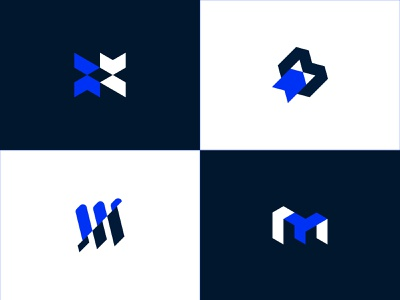 Unused Logo Concepts for Maplewood monogram logo startup logo agency logo minimalist logo mark logo designer logo logo design