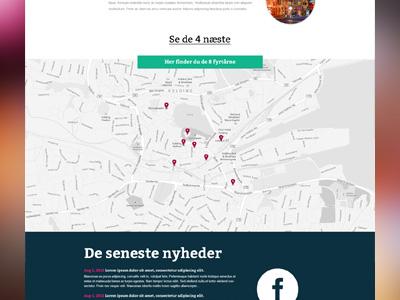 Upcoming website - part 2 website festival light dark map google