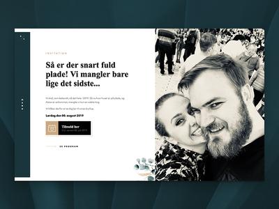 Website for (my) wedding website wedding