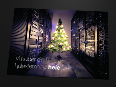 Christmas card christmas card christmas card server room christmas tree cozy lights