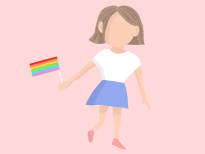 """We are all equal"" illustration designer visualdesign illustrator vector illustration drawing draw lgbt equality graphicdesign design character art"