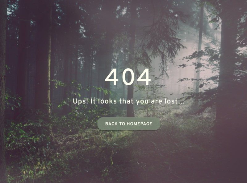 Daily UI #8: 404 Page 404page error interactive interaction design dailyui008 interactiondesign interaction visualdesign dailyuichallenge dailyui visual design screen ux ui design
