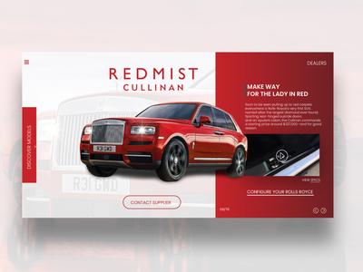 Rolls Royce UI