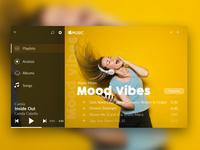 apple music web UI