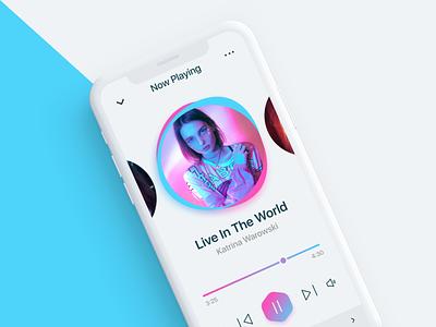 Music App- Work In Progress modern mobile minimal dailyui clean music player music app adobe xd ux design android ios app ui design interface dailyuichallenge app design adobe ux ui design