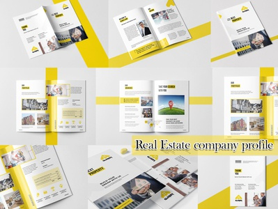Real Estate Agency Profile | Indesign Template
