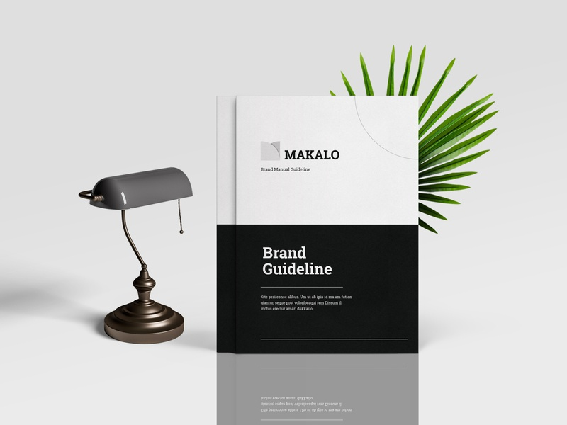 Brand Guideline | InDesign Template bifold brochure bifold brand book brand guide graphic template brand guideline brand guide identity brochure design company profile templatedesign indesign template design branding template design