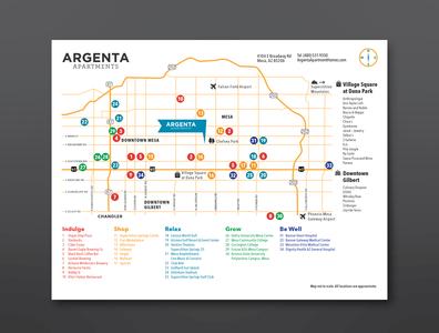 Argenta Map