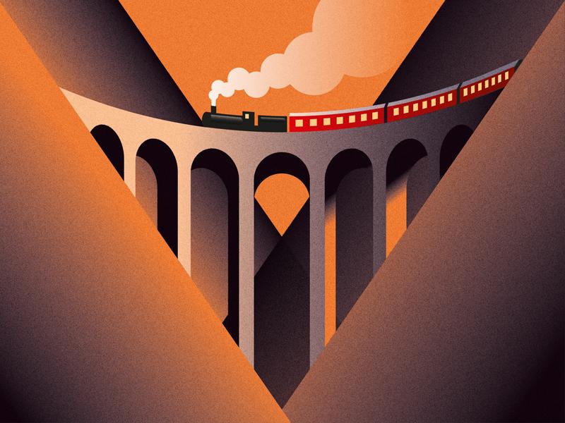 Viaduct dribbble2