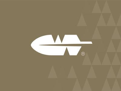 Warbonnet Activities wigwam nativeamerican feather vector branding negative space identity icon logo