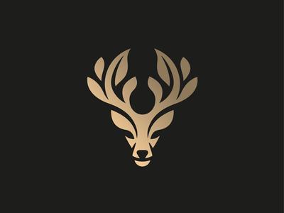 Sagamore Botanicals vector stag logo illustration identity icon deer chinese medicine cbd botanicals animal