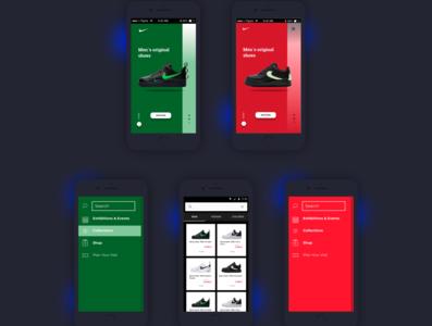 Mobile app  Dark Version