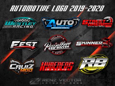 AUTOMOTIVE LOGO DESING 2019-2020 rc racing drifting racing automotive design logo merchandise brand identity clothdesign apparel