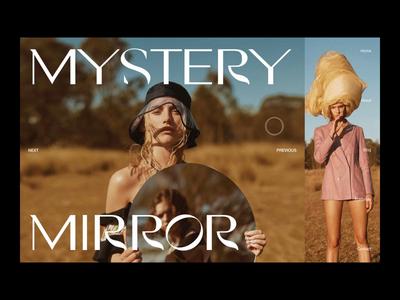 Fashion online magazine slider