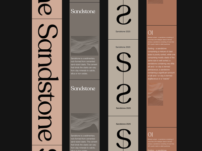 Sandstone visual direction whitespace visual art branding design illustration minimalist photography modern typography minimal visual direction visual identity visual design