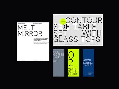 Typographic Visuals Exploration typography typography art typographic color palette colorful visuals branding web design whitespace modern layout minimal