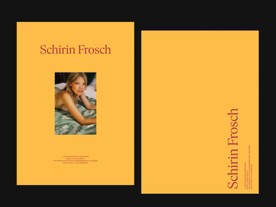 Schirif Froshc Lookbook
