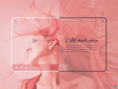 Hair Care | Responsive Web Design responsive website design responsive web design responsive website uidesign ui  ux uiux responsive design responsive website design website web webdesign flat web design ux design ui ux ui design figma design