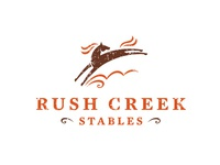 Proposed Rush Creek Stables Logo