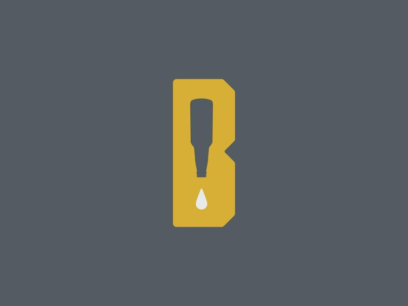 Bar None texas dallas branding bars none design logo droplet bottle beer bar logomark