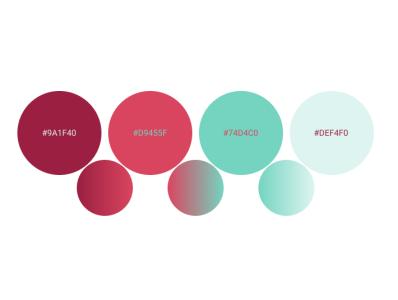 Color Palette 4 design app mobile web palette colors ux ui