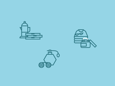 Animated Icons small business after effects iconography