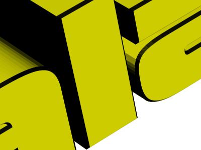 It came from the 1990s: A List Apart 3-D logo 3d logo header illustration a list apart alistapart.com