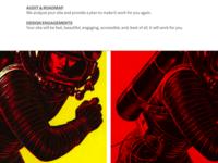 studio.z homepage redesign