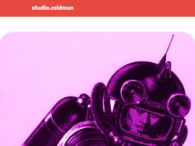 studio.z homepage redesign in progress (detail)