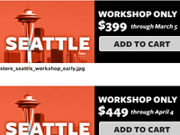 Seattle - workshop only