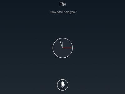 Pie home automation raspberry pi pi clock speech-to-text text-to-speech webapp homecontrol controlpanel speech pie ai