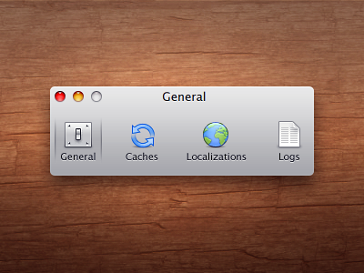 Abandoned Preferences Icons rejected icons preferences pixel icon general cache caches localization logs log settings