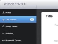 iClock Central: Quick HTML progress