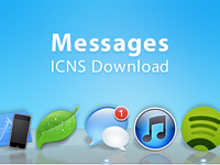 Messages ICNS Download