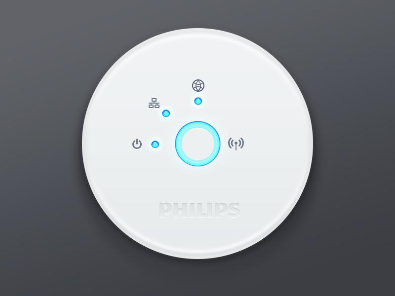 Philips Hue: Webapp – Hub Asset tweethue hub philips hue blue plastic icon grey webapp app api