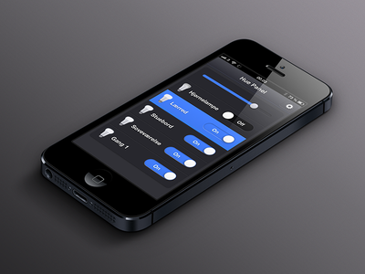 Philips Hue: Webapp - Light control iphone bulbs dark tweethue hub philips hue blue plastic icon grey webapp app api