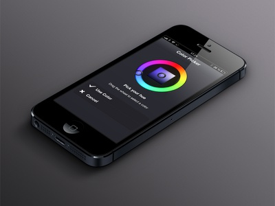 Philips Hue: Webapp - Colorpicker iphone bulbs dark tweethue hub philips hue ethernet lan plastic icon grey webapp app api colorpicker colorwheel color wheel rainbow