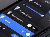 Philips Hue: Webapp – Dynamic bulbs