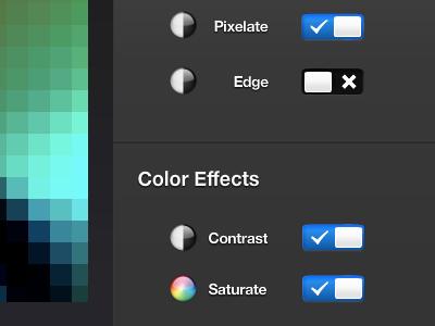 Hue Ice Live: Gettin' sweet hue ui dark icons app philipshue adobe air application progress