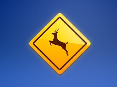 Signs: Deer Crossing