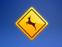 Signs: Deer Crossing