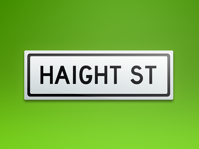 Signs: Haight Street