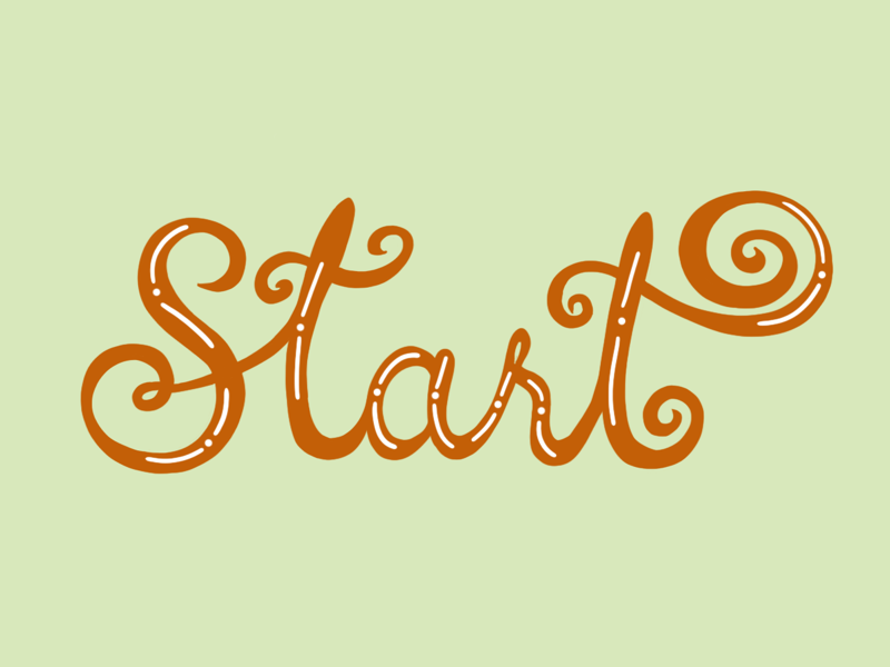Lettering Challenge 1/50 colors typography lettering