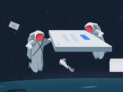 MDS—Components Hero Illustration mavenlink photoshop digital editorial illustration illustration