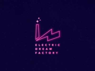 Electric Dream Factory Logo Design