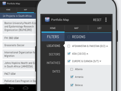 USAID —Android  android ui mobile