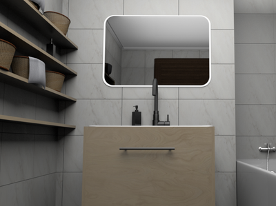 Bathroom visualization (Cinema 4D)