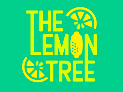 The Lemon Tree Logo Concept limes lime lemons lemon food graphic design vector branding design logo